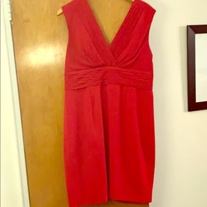 Beautiful stylish red cocktail dress!